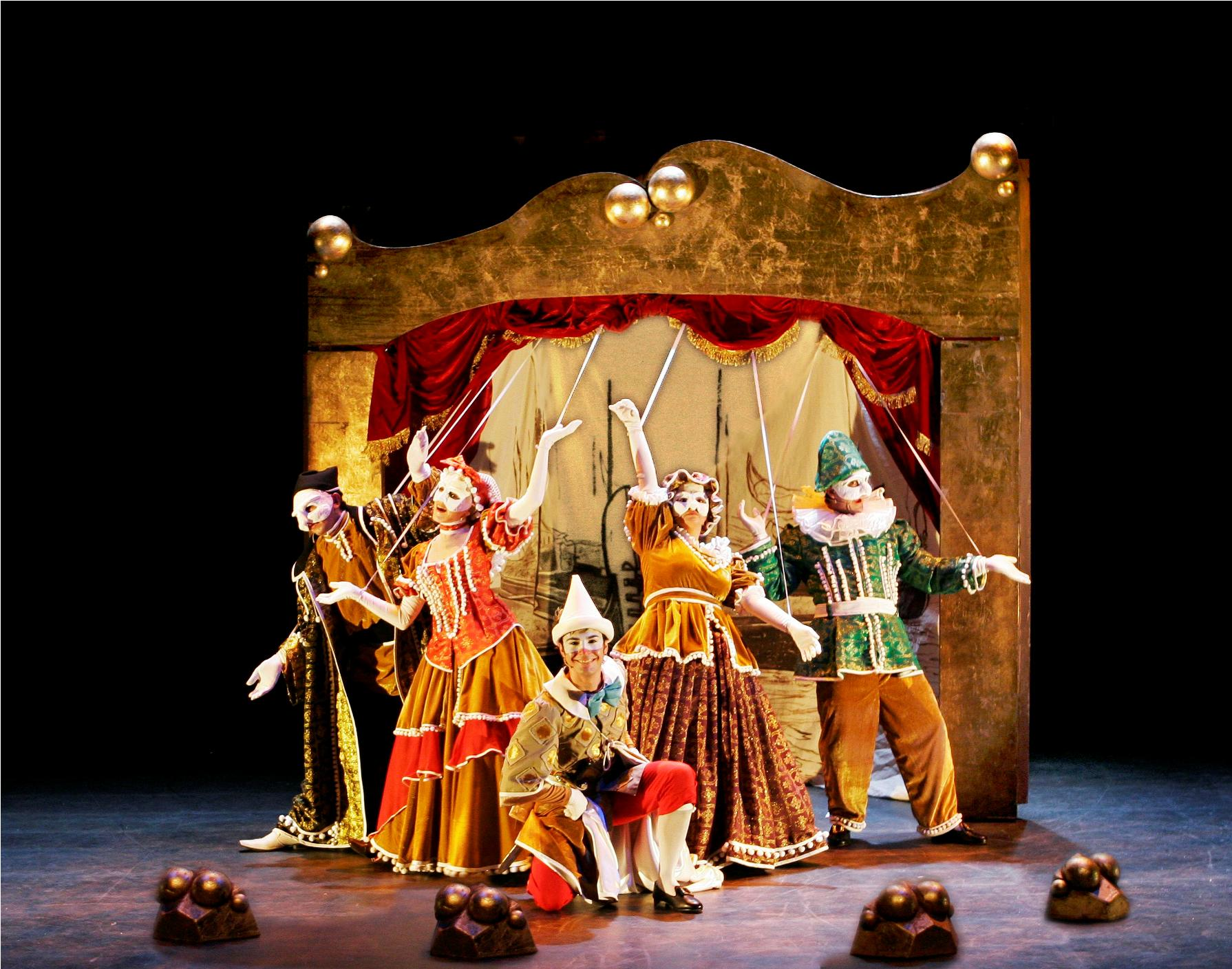 Broadway Barcelona con Pinocho, un cuento musical