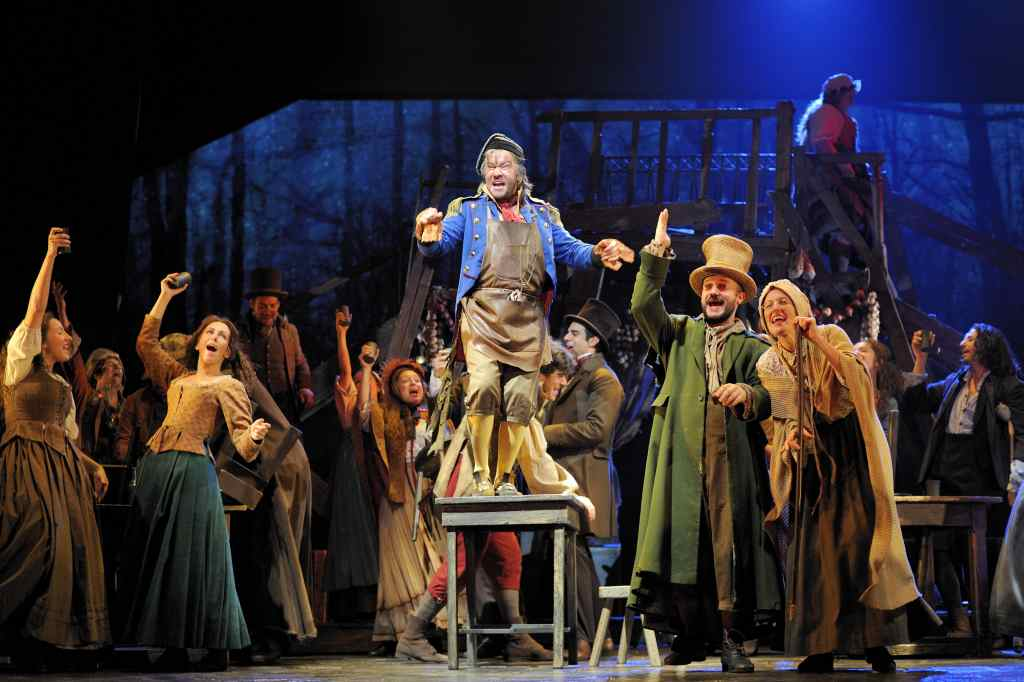 Los miserables, el musical, ¡emocionante!