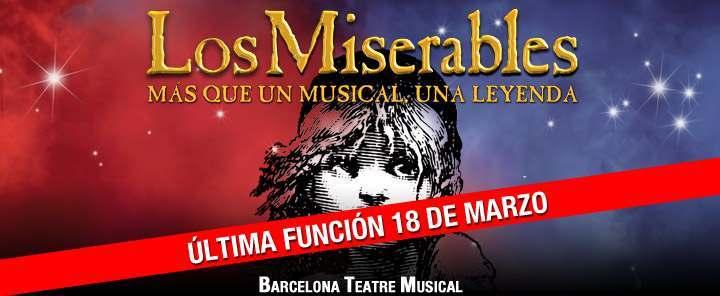 Los Miserables, el musical: curiosidades antes de su despedida de Barcelona
