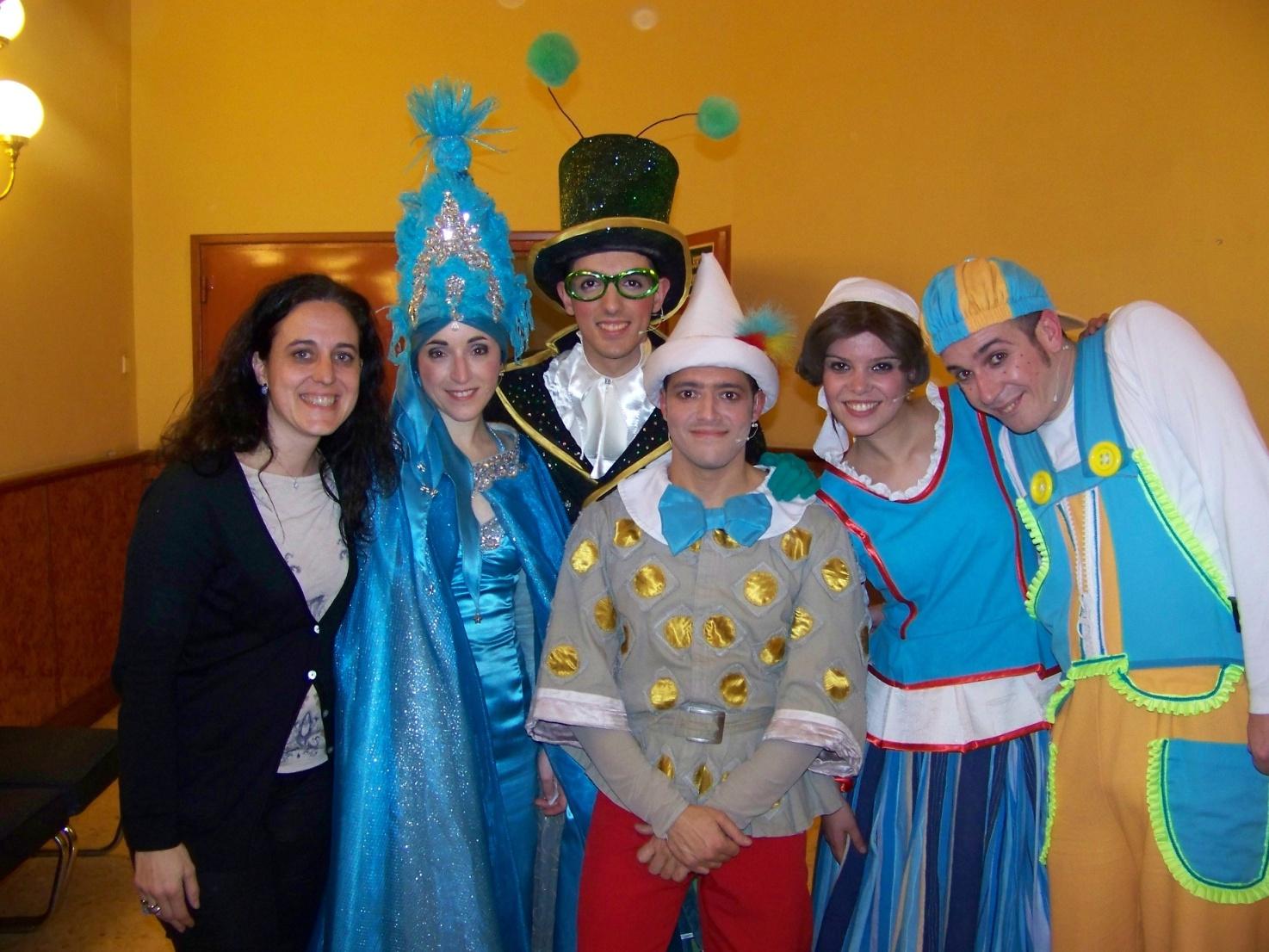 Las aventuras de Pinocho un cuento musical