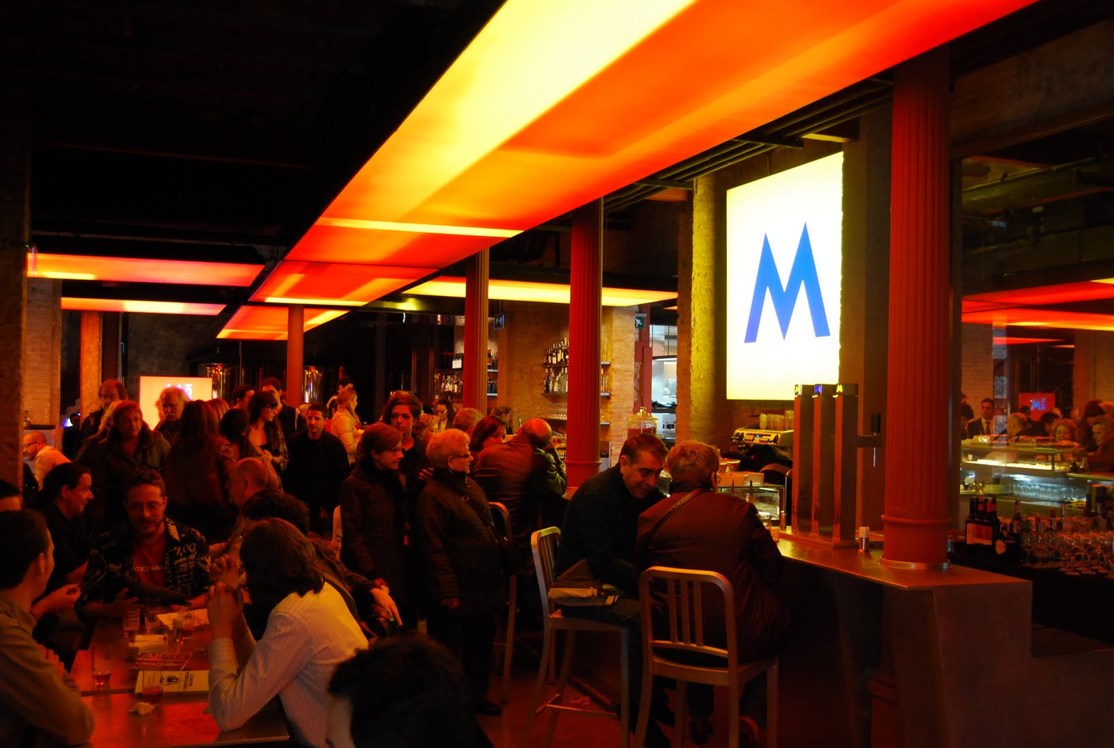 La Fábrica Moritz y Sala Sidecar, antes y después de un musical