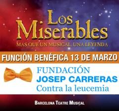 Los Miserables, el musical, con la Fundación Josep Carreras