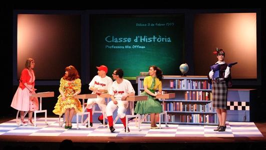 La Ventafocs, el musical amb ritme dels 50