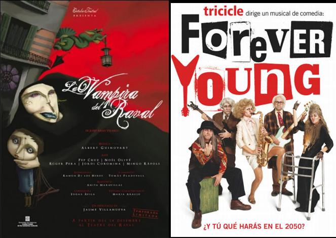 Baja el telón para varios musicales en Barcelona