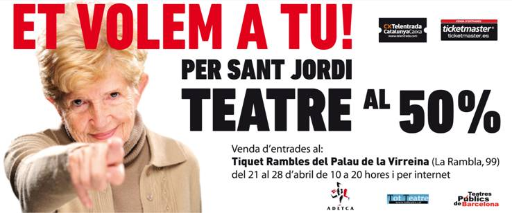 Per Sant Jordi al Teatre