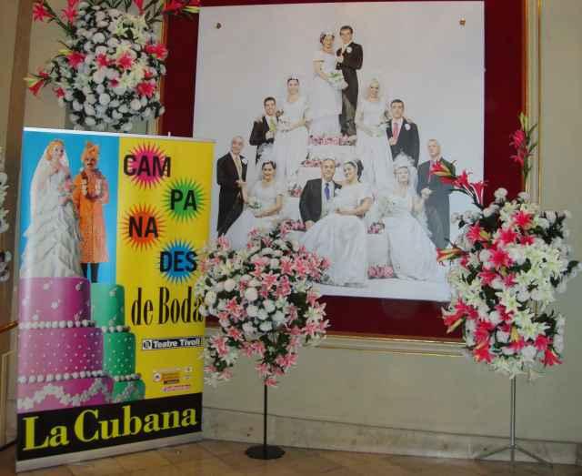 Un casament made in La Cubana: Campanades de Boda