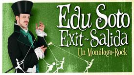 Edu Soto presenta el monólogo musical Exit/Salida en el Club Capitol