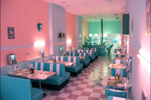 Plan 100% rock and roll: Grease y cena en Peggy Sue's