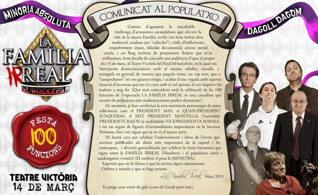 la-familia-irreal-100-funcions-teatre-victoria-barcelona