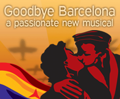 El musical Goodbye Barcelona de Londres al Teatre del Raval de Barcelona