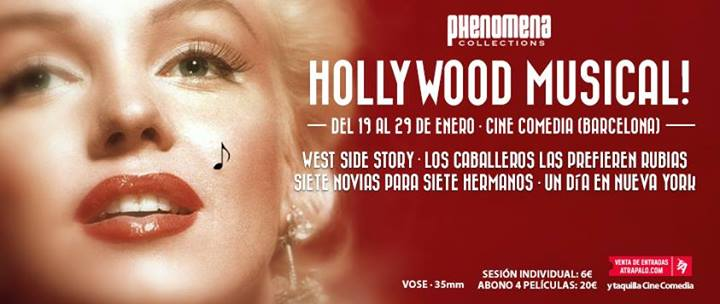 "Gana una entrada doble para ir a ""Hollywood Musical"" de Phenomena"