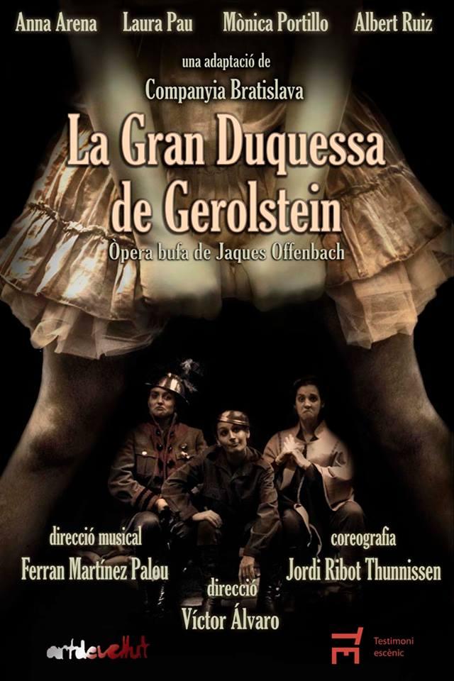 la-gran-duquessa-de-gerlostein-cartell-teatre-gaudi-barcelona