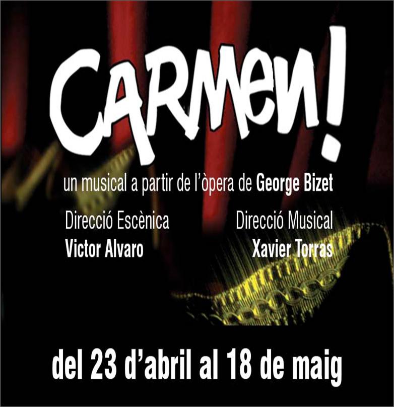 """""""CARMEN!"""", musical a partir de la ópera de Bizet, llega al Almeria Teatre"""