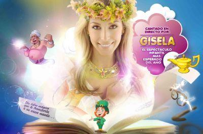 """La artista Gisela estrena el musical """"Gisela y el Libro Mágico"""""""