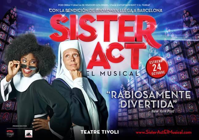 Sister Act el musical anuncia una última prórroga en Barcelona hasta el 10 de mayo