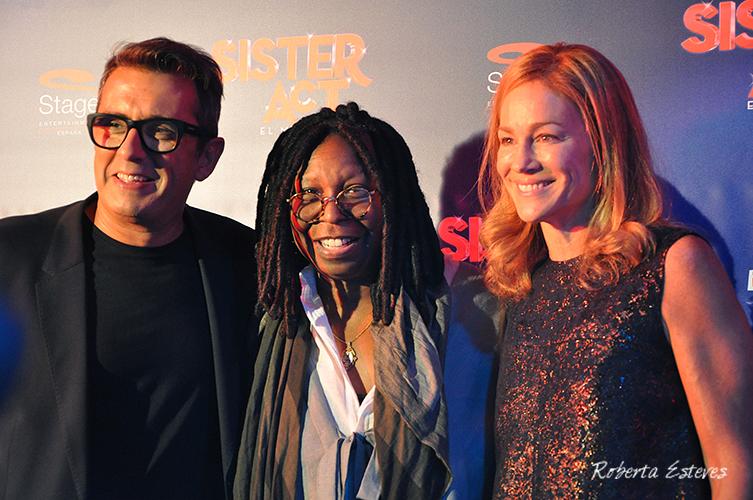Whoopi Goldberg presenta Sister Act el musical en Barcelona