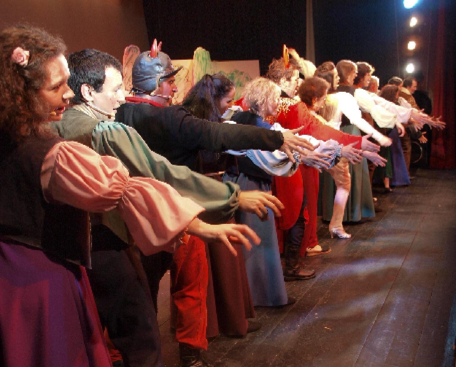 """""""Pastorets Superestel"""" de Cía La Trepa en el Jove Teatre Regina"""