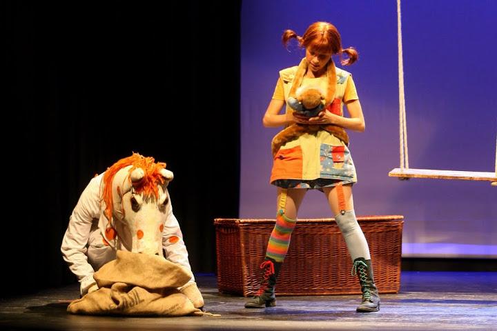 Sorteamos entradas para Pippi Langstrump el musical
