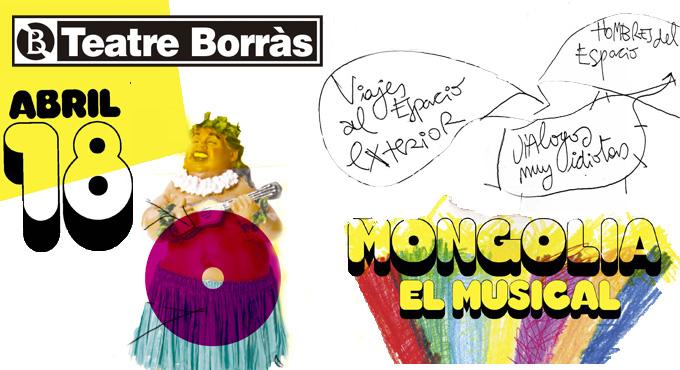 Mongolia el musical, de la revista satírica homónima, llega al Teatre Borràs de Barcelona