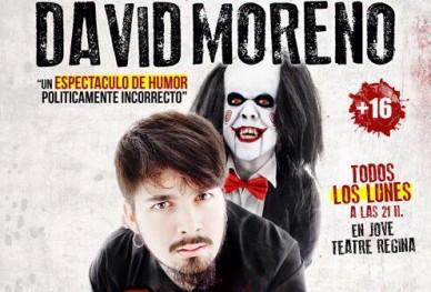 """David Moreno con """"Quiero Jugar a un Juego"""" en """"Les nits d'humor"""" del Regina"""