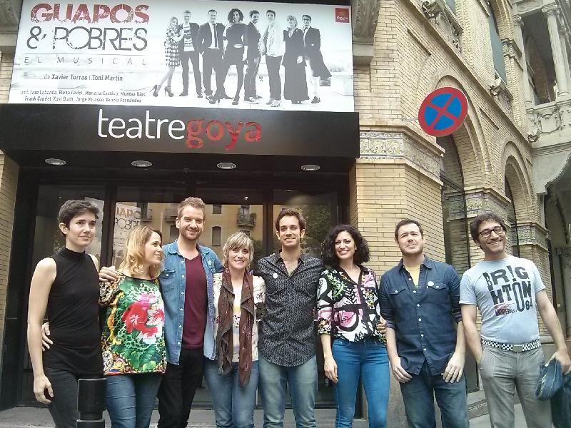 Guapos i Pobres, un nuevo musical con aire fresco, se presenta en el Teatre Goya de Barcelona