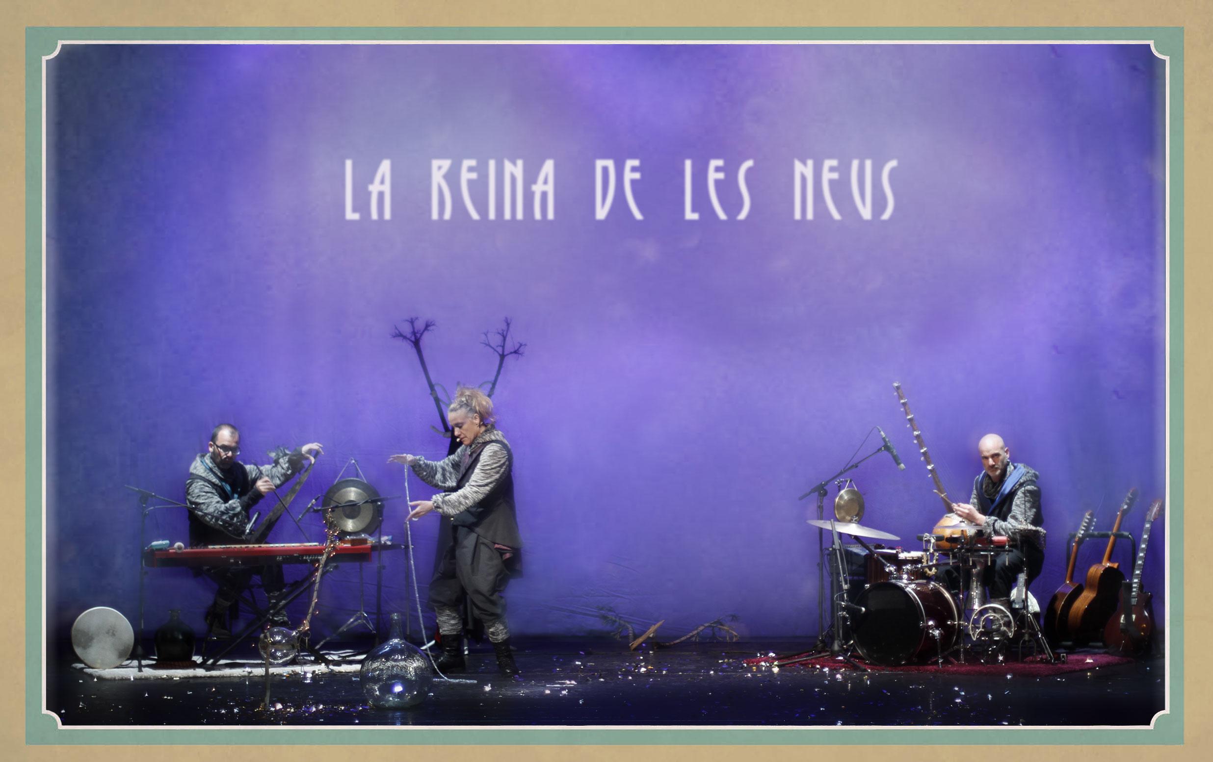 La Reina de les Neus, un musical familiar este fin de semana en Jove Teatre Regina