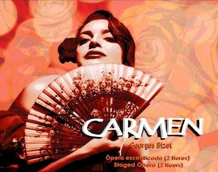 CARMEN de Bizet en el Palau de la Música de Barcelona