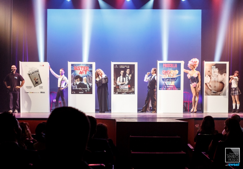 Sister Act el musical, Mar i Cel, Mierda de Artista el musical premiados en los Premios del Teatro Musical