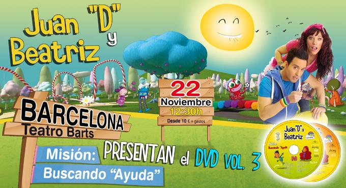 "La Sala Barts acoge el musical infantil ""Juan D y Beatriz"" de Clan TV"