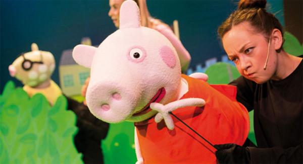 Peppa Pig en Barcelona con su musical en el Teatre BARTS