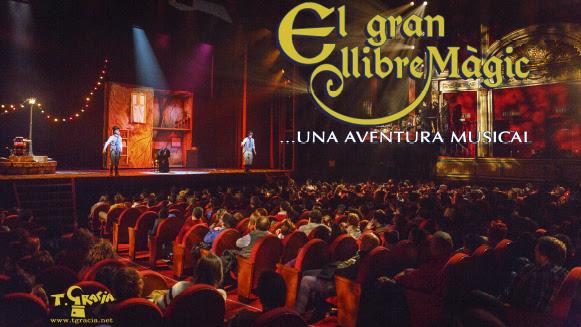 """""""El gran llibre màgic"""", una aventura musical llega al Teatre Goya"""