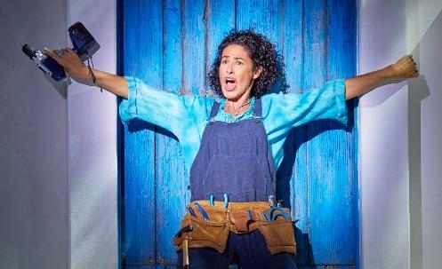 Nina vive como un regalo su vuelta a Mamma Mia! el musical