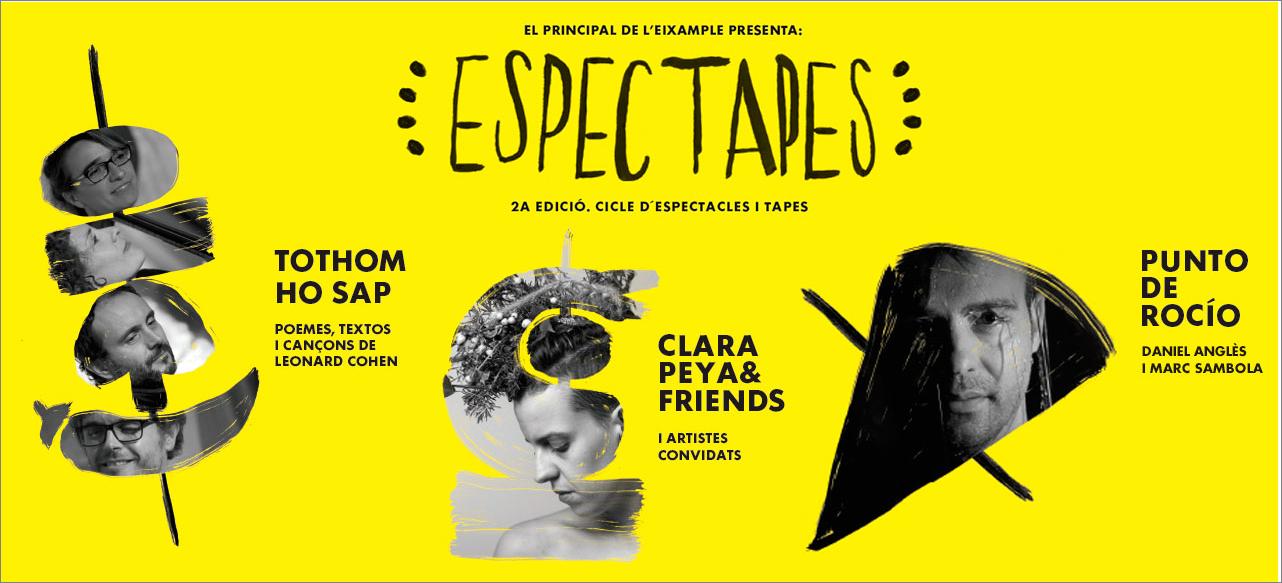 """""""ESPECTAPES"""" vuelve a El Principal de L'Eixample"""