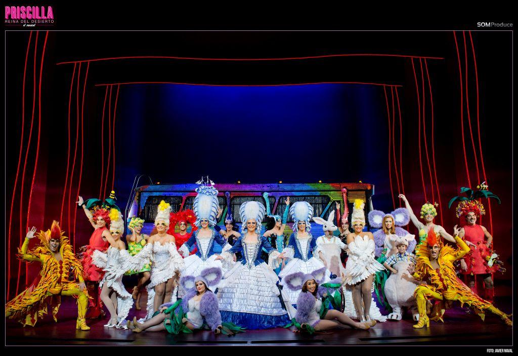 """""""Priscilla El Musical"""" se estrena en Barcelona"""