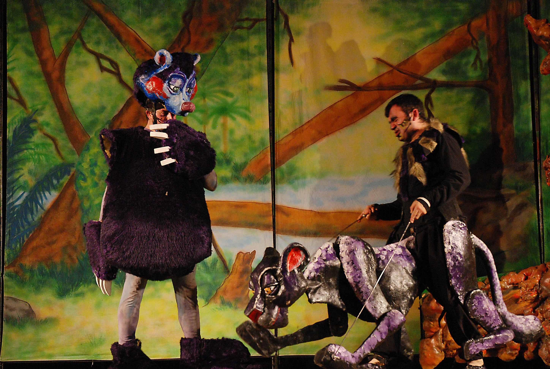 """""""El Llibre de la Selva"""" los fines de semana en el Eixample Teatre"""