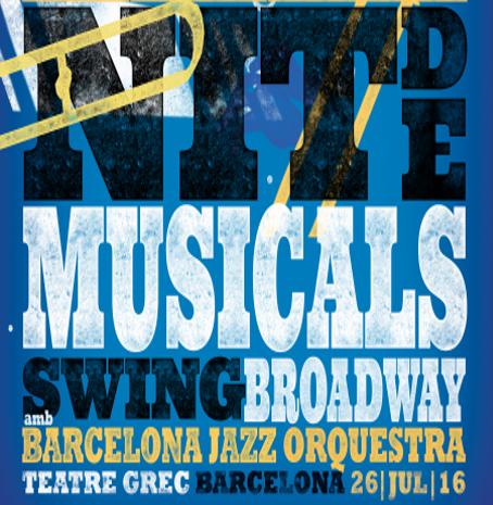 """""""Nit de Musicals"""", el 26 de julio en el Teatre Grec"""