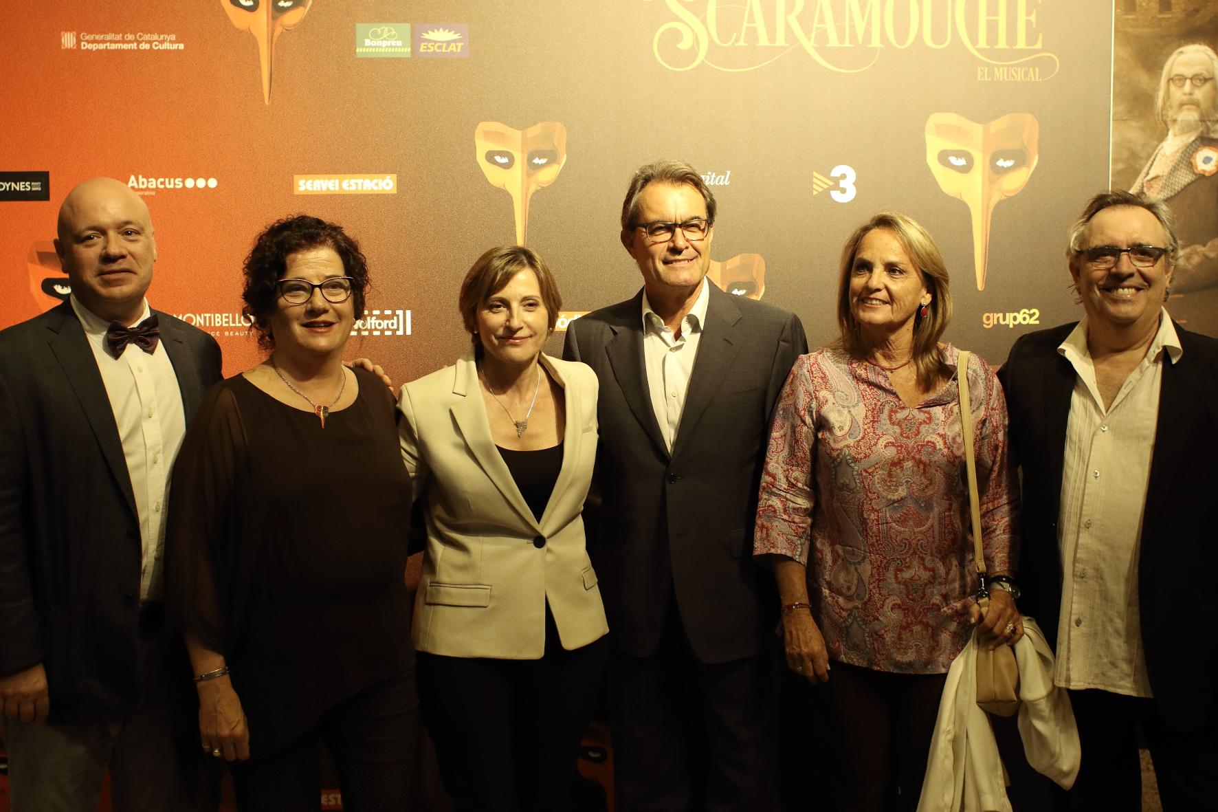 """Merecido estreno del musical """"Scaramouche"""" en el Teatre Victòria"""